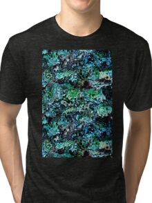 Turquoise Garden of Glass Tri-blend T-Shirt