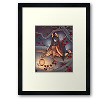 Lantern Light Framed Print