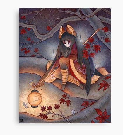 Lantern Light Canvas Print