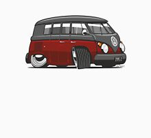 VW T1 Microbus cartoon black/red Unisex T-Shirt