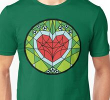 Stained Heart Container Unisex T-Shirt