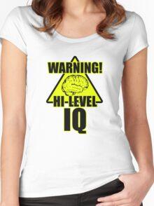 Genius 2 Women's Fitted Scoop T-Shirt