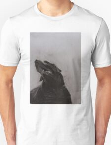 Black and white drawing, Labrador Retriever Unisex T-Shirt