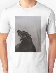 Black and white drawing, Labrador Retriever T-Shirt