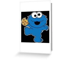 Cookie Monster Baby Greeting Card