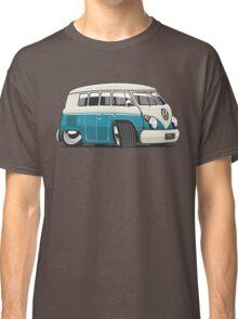 VW T1 Microbus cartoon turquoise Classic T-Shirt