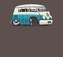 VW T1 Microbus cartoon turquoise Unisex T-Shirt