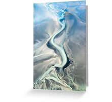 Satin Sashay Greeting Card