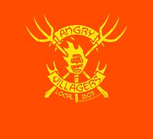 Angry Villagers (yellow/red) Unisex T-Shirt