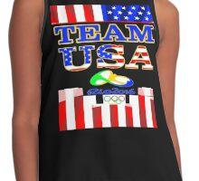 Team USA Rio 2016 Olympics Contrast Tank