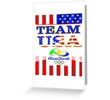 Team USA Rio 2016 Olympics Greeting Card