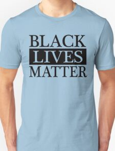 Black Lives Matter (Black) Unisex T-Shirt