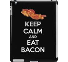 Keep Calm and Eat Bacon iPad Case/Skin