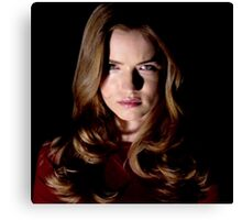 EMMA DUVAL FROM MTV TV SERIES SCREAM  Canvas Print