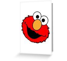 Elmo Big Smile Greeting Card