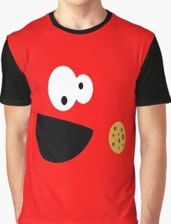 Elmo Cookie Graphic T-Shirt