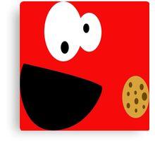 Elmo Cookie Canvas Print