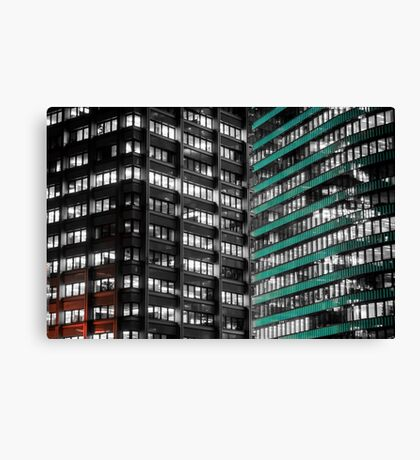 Office Buildings Canvas Print