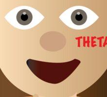 Kappa Alpha Theta Hand Emoji Sticker