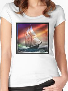 Bluenose 2 Women's Fitted Scoop T-Shirt