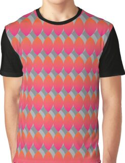 Candy Leaf Pattern Graphic T-Shirt