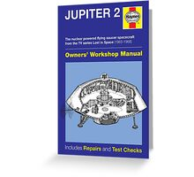 Haynes Manual - Jupiter 2 - Poster & stickers Greeting Card