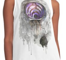 astronout bass head Contrast Tank