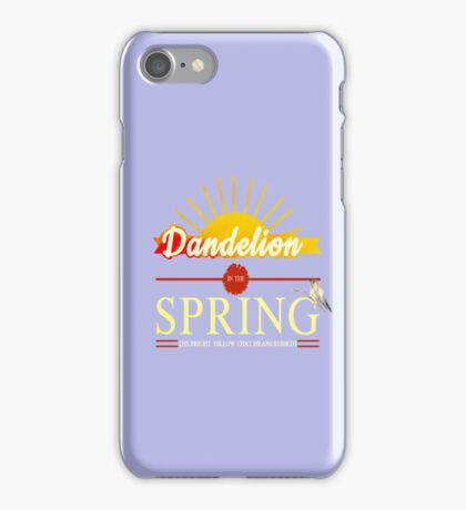 in the spring iPhone Case/Skin