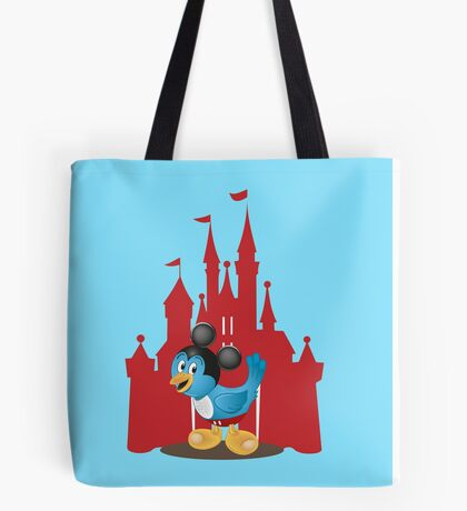 Huggybird Mouse Tote Bag