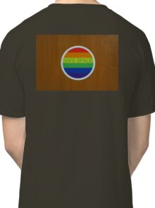 "LGBT ""Safe Space"" sticker  Classic T-Shirt"
