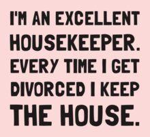 Divorced Housekeeper One Piece - Long Sleeve