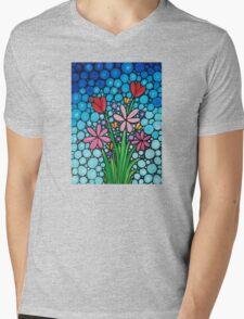 Spring Splendor - Flowers by Sharon Cummings Mens V-Neck T-Shirt