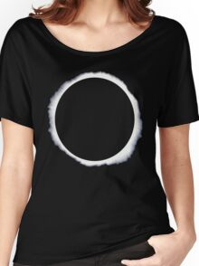 Danisnotonfire circle eclipse Black Only Women's Relaxed Fit T-Shirt