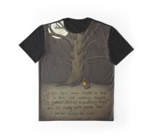 Trees (Fox and Girl) Graphic T-Shirt