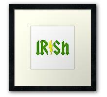 Irish Lightning Framed Print