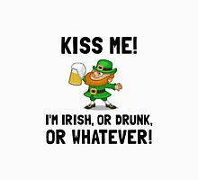Kiss Me Irish Drunk Unisex T-Shirt
