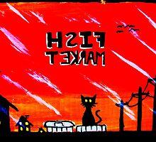 Alley cat #3 by Matt Amott