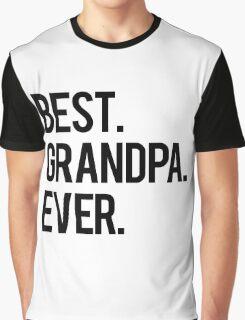 Best Grandpa Graphic T-Shirt