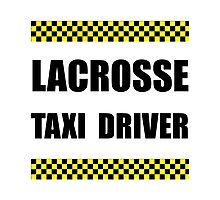 Lacrosse Taxi Driver Photographic Print
