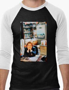 DANA SCULLY x files - I Want To Believe Men's Baseball ¾ T-Shirt