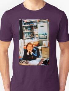 DANA SCULLY x files - I Want To Believe Unisex T-Shirt