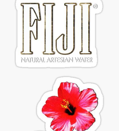 fiji water Sticker