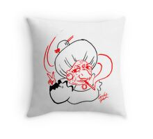 Coolest Witch From The East Throw Pillow