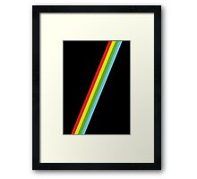 Speccy Lines Stripes Framed Print