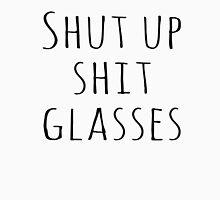 Levi Shit Glasses Black Text Unisex T-Shirt