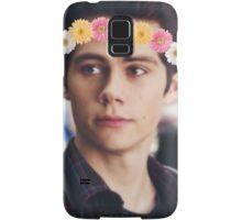 Flowers in his hair Samsung Galaxy Case/Skin
