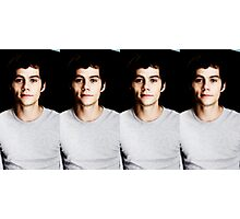 Seeing Double Dylan Photographic Print