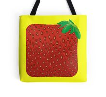 Square Strawberry Tote Bag