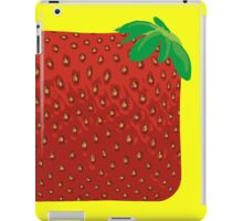 Square Strawberry iPad Case/Skin