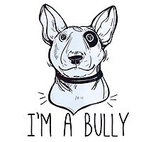 Bull Terrier  - Bully Photographic Print